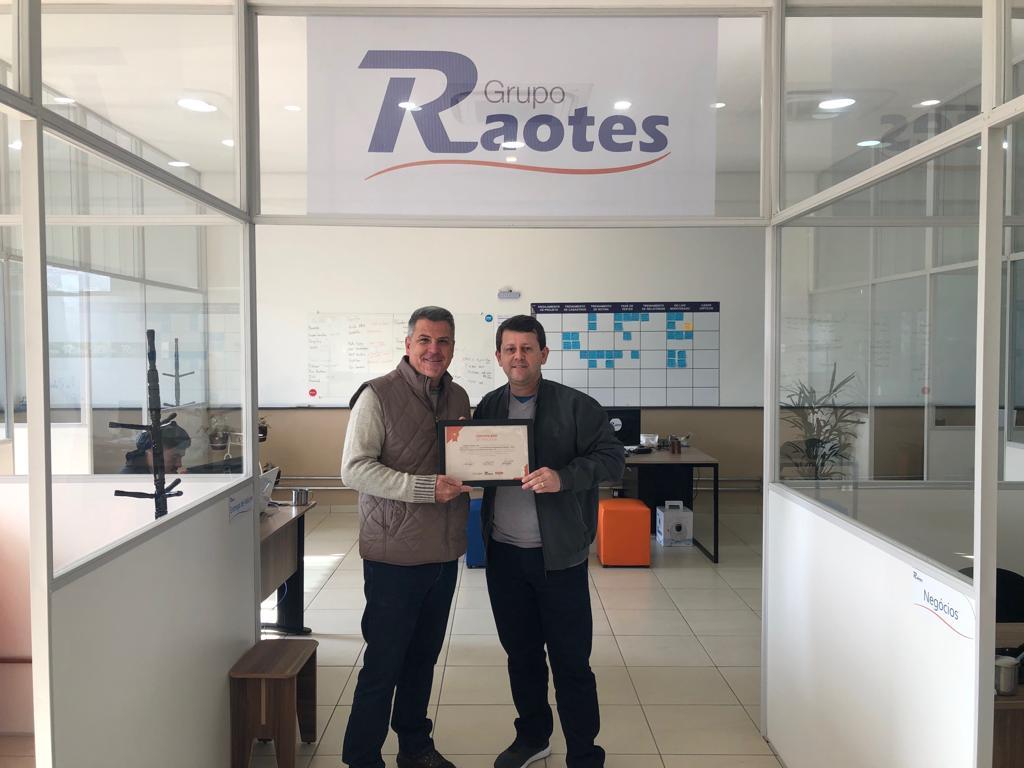 sidinei certificado raotes partners grupo raotes